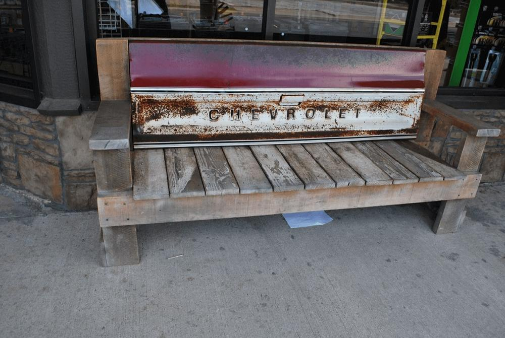 Caraway General Store bench